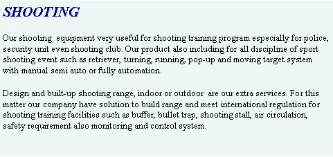 Text Box: SHOOTING